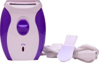 GLOWISH AK-2001RECHARGEABLE PROFESSIONAL FOR WOMEN UNDERARMS & LEGS  Runtime: 45 min Trimmer for Women(Multicolor)