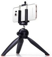 GURU KRIPA ENTERPRISES GK-MINI TRIPOD YT -228 Tripod(Black, Supports Up to 500 g)