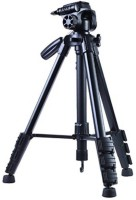 goldtech 5208 Professional Tripod with Bluetooth Remote Shutter Tripod Kit (Black, Supports Up to 1500) Tripod(Black, Supports Up to 1500 g)