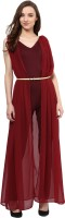 Miss Chase Solid Womens Jumpsuit