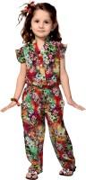 Smilee Printed Girls Jumpsuit