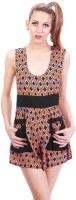 Fairground Geometric Print Womens Jumpsuit