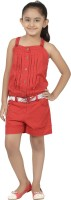 Eves Pret A Porter Solid Girls Jumpsuit