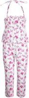 Gini & Jony Printed Girls Jumpsuit
