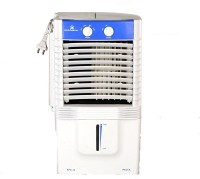 View Kelvinator 10 LTR PERSONAL COOLER FOR MEDIUM ROOM (21 CM HEIGHT) 90 W Personal Air Cooler(Whit & Blue, 10 Litres) Price Online(Kelvinator)