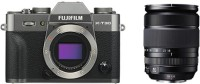 fuji X-T30 with 18-135 Kit Lens Silver Mirrorless Camera KIT(Silver)