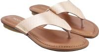 Mochi Women Tan Flats