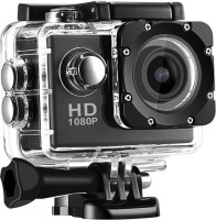 ROBMOB Action Shot Jump Action Sports 1080p 12MP Sports Waterproof Camera With Micro Sd Card Slot And Multi Language Action Video Waterproof Camera Up To 30M 2 Inch LCD Super Wide Angle Sports and Action Camera(Black 12 MP) Sports and Action Camera(Black, 12 MP)