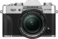 FUJIFILM X Series X-T30 Mirrorless Camera Body with 18 - 55 mm Lens F2.8 - 4 R LM OIS(Silver, Black)