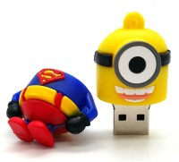 PANKREETI PKT662 Minion Superman 256 GB Pen Drive(Multicolor)