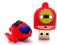 PANKREETI PKT661 Minion Spiderman 256 GB Pen Drive(Multicolor)