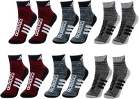 ADIDAS Men & Women Ankle Length(Pack of 6)