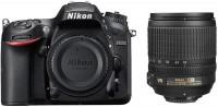 Nikon D7200 DSLR Camera Body with Single Lens: AF-S 18 - 105 mm VR Lens(Black)
