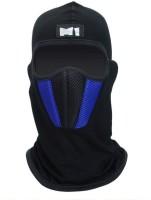 Auto Hub Blue Bike Face Mask for Men & Women(Size: Free,  Balaclava)