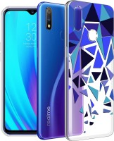 "Flipkart SmartBuy Back Cover for Realme 3 Pro(""TRIANGLE PATTERN "", Shock Proof, Silicon)"