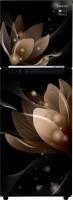 View Samsung 253 L Frost Free Double Door 3 Star Refrigerator(Saffron Black, RT28R3053B8/HL) Price Online(Samsung)