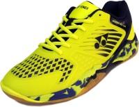 Yonex Yonex SuperAce Light Non-Marking Court Badminton Shoes For Men(Navy, Yellow)