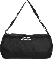 Nivia Basic Duffle Bag Duffle Bag(Black, Kit Bag)