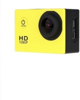 Rhonnium Plain 1080-HD Cam-023 ® MJPEG 2 inch LCD IP68 30m Waterproof Sports and Action Camera(Yellow, 12 MP)
