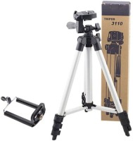 guru kripa enterprises Tripod-3110 Tripod Kit(Silver, Black, Supports Up to 1000 g)
