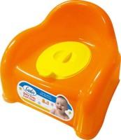 littles Baby Potty Cum Chair Potty Seat (Orange) Potty Seat(Orange)