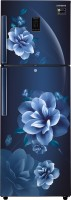 View Samsung 324 L Frost Free Double Door 3 Star Convertible Refrigerator(Camellia Blue, RT34R5438CU/HL) Price Online(Samsung)