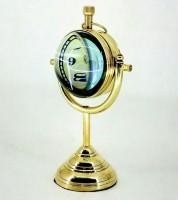 Priyanshu Decor Analog Gold Clock