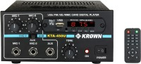 KROWN KTA-450USB 45 Watts 25 W AV Power Amplifier(Black)