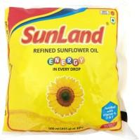 Sunland Refined Sunflower Oil Pouch(500 ml)
