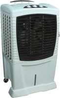 View NEWCLASSIC NEWCLASSIC_PERSONAL|DESERT|HONEY COMB PAD|3 SPEED|ROOM|TROLLEY Tower Air Cooler(Brown, White, 55 Litres)  Price Online