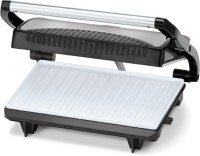 KENT !6025 sandwich maker grill Grill(Black and Silver)