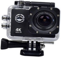 Maupin 4K ACTION CAMERA 4K Action Camera Ultra HD 1080P Waterproof with Rechargeable Battery Sports and Action Camera(Black, 16 MP)