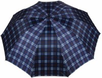 KEKEMI UMB016F 3 Fold Check Windproof Travel Umbrella(Multicolor)