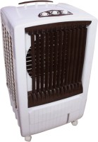 View QUBIFT QUBIFT_DESERT_AIR BOOSTER Desert Air Cooler(Brown, 85 Litres) Price Online(QUBIFT)
