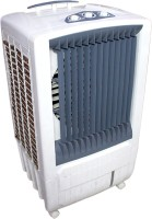 View QUBIFT DESERT_ROOM__WINDOW_PERSONAL Desert Air Cooler(Grey, 85 Litres) Price Online(QUBIFT)