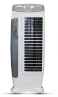 View Akshat High Speed Tower Fan Grey Color Fan Tower Air Cooler(Grey, White, 0 Litres)  Price Online