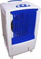 View QUBIFT COOLEST_110_LTR CHILL BOOSTER Desert Air Cooler(Blue, 110.0 Litres) Price Online(QUBIFT)