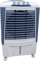 View QUBIFT COOLEST_85_LTR AIR BOOSTER Desert Air Cooler(Grey, 85 Litres) Price Online(QUBIFT)