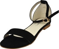 Raien Fashion Women Black Flats