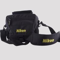 Nikon Black Color Dslr/Slr Shoulder Camera Bag  Camera Bag(Black)