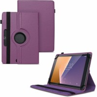 TGK Flip Cover for Kindle Fire HD 7 Tablet 7 inch / Rotating Leather Stand Case(Purple, Cases with Holder)