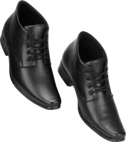 Kraasa Long OfficeWear Derby For Men(Black)