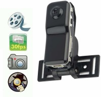 VibeX Voltegic-Sports Action Cam BLK /- 7005 ™ HD Mini MD8 MD80 Camera Wireless IP Wifi Dv Dvr Video Record Camcorders Sports and Action Camera(Black, 3 MP)