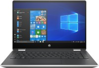 View HP Pavilion x360 Core i3 8th Gen - (4 GB/256 GB SSD/Windows 10 Home) 14-dh0107TU 2 in 1 Laptop(14 inch, Natural Silver, 1.59 kg, With MS Office) Laptop