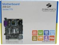 Zebronics ZEB-G31 Motherboard(Black)