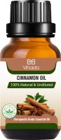 Vihado Cinnamon Essential Oil 100% for Diffusers, Toilets, Wardrobes, Concentration & Spirituality (10 ml) (Pack of 1)