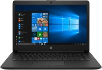 View HP 14-CK Series Core i3 7th Gen - (4 GB/1 TB HDD/Windows 10 Home) 14-ck0119TU Laptop(14 inch, Jet Black, 1.55 kg) Laptop