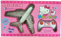 YATRI Aerobus Hello Kitty Series Radio Control Toy Plane (Battery Operated) With Colored Lights(Multicolor)