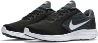 Nike REVOLUTION 3 Running Shoes For Men(Black)