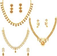 Sukkhi Alloy Jewel Set(Brown)